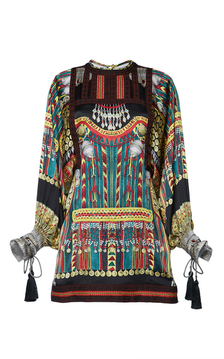 Medium etro print liquorice mini dress