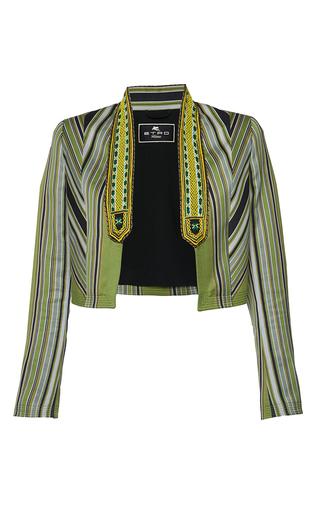 Medium etro stripe fleur d oranger jacket 2