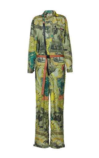 Medium etro print saffron jumpsuit 3
