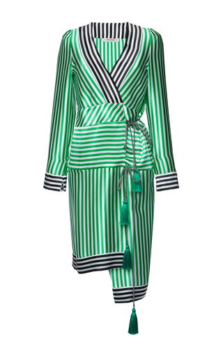 Medium etro stripe anise dress