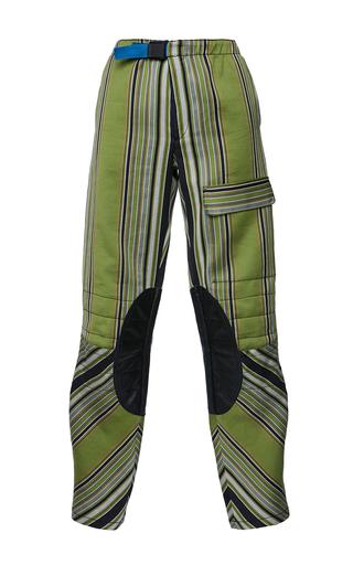 Medium etro stripe anise trouser 6