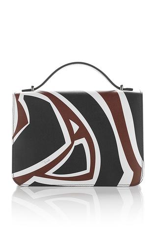 Medium emilio pucci multi labyrinth printed leather shoulder bag