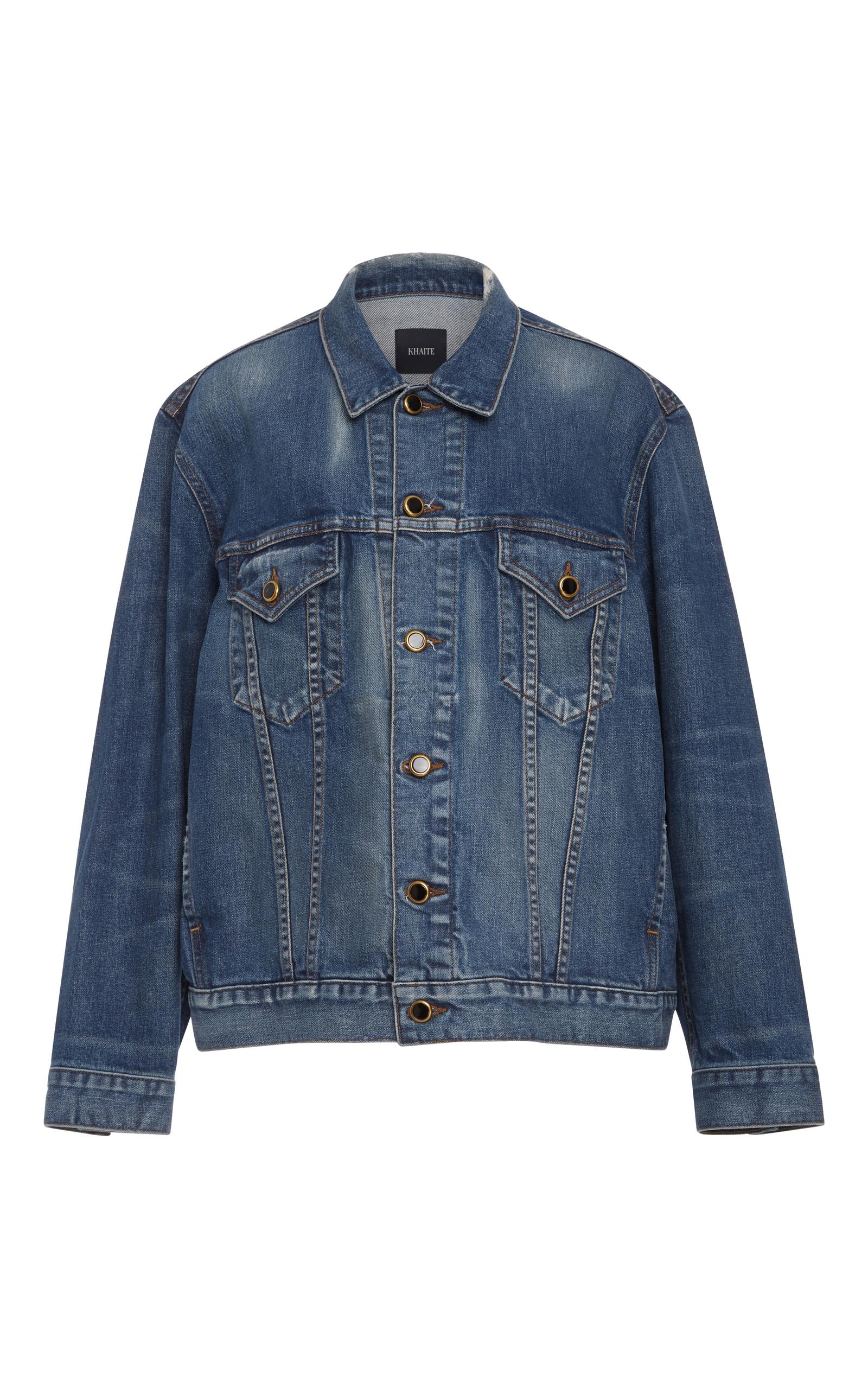 Blue Denim Oversized Cate Jacket