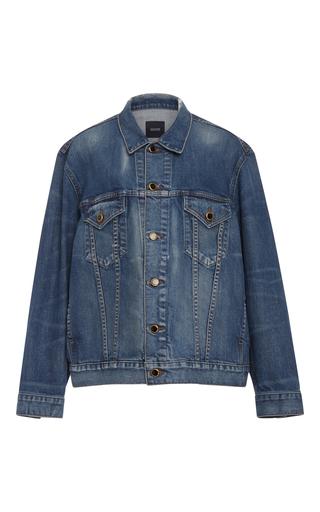 Medium khaite light wash cate oversized denim jacket
