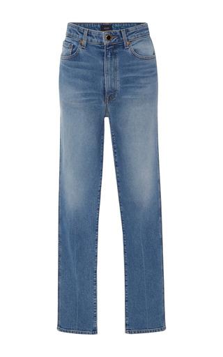 Medium khaite light wash vanessa high rise skinny jeans