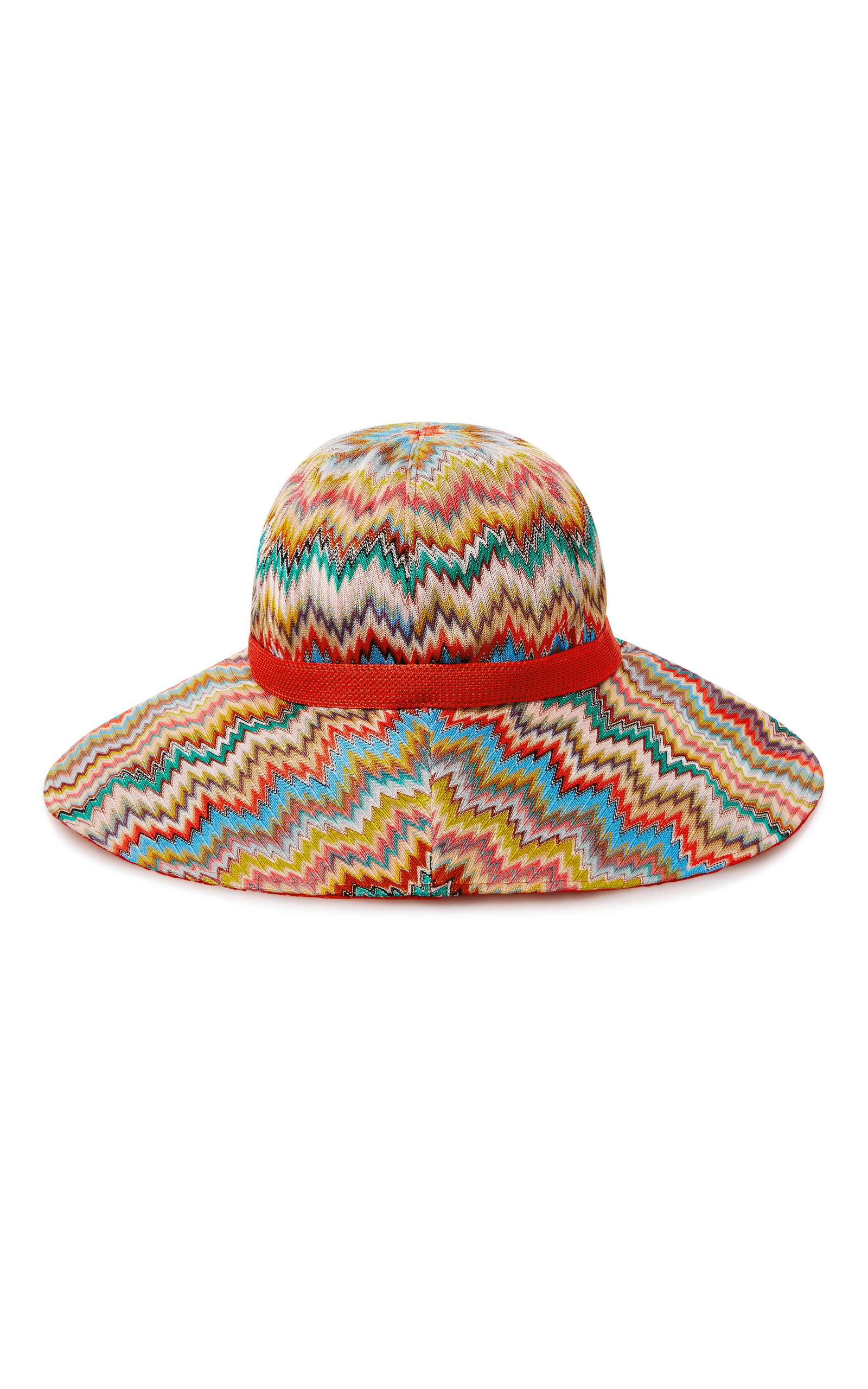 1697f84e093 Chevron-Knit Sunhat by Missoni Mare