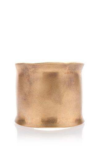 Medium etro gold irregular metal bangle