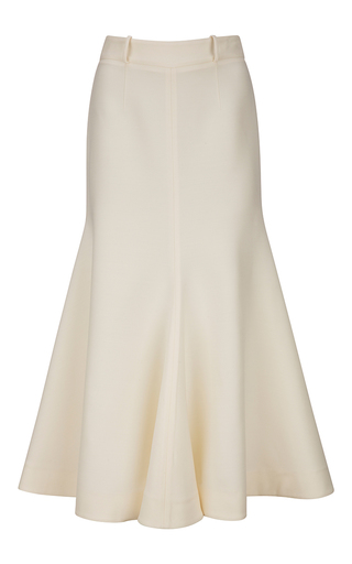 Medium bally ivory mermaid skirt