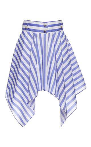 Medium francesco scognamiglio stripe striped mini handkerchief skirt