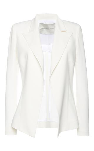 Medium francesco scognamiglio white notched lapel blazer