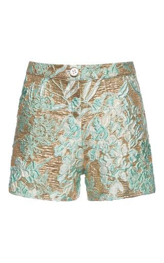 Medium francesco scognamiglio multi lame jacquard shorts