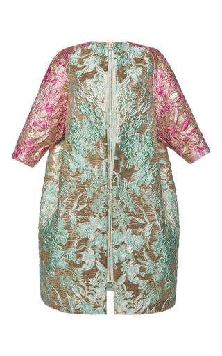 Medium francesco scognamiglio multi multi toned jacquard coat