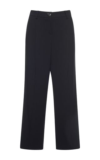 Medium francesco scognamiglio black high waist wide legged pant 2