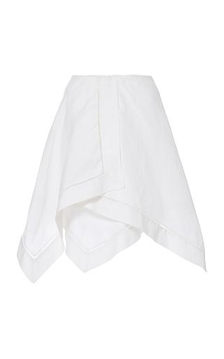 Medium j w anderson white short handkerchief skirt