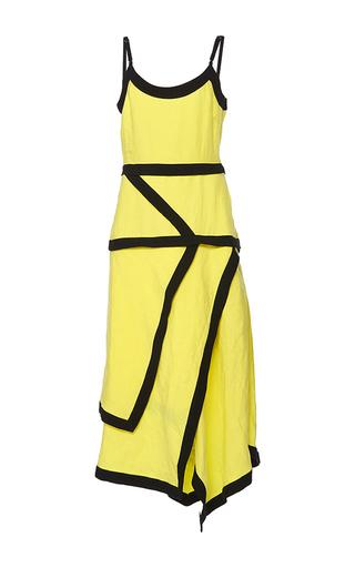 Medium j w anderson yellow contrast cami dress