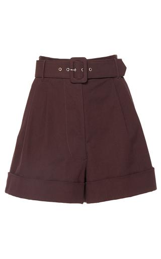 Medium isa arfen brown safari shorts