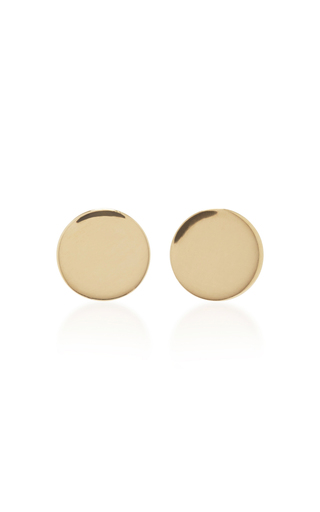 Medium magdalena frackowiak gold small pin earrings