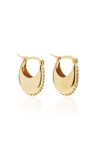Medium magdalena frackowiak gold earrings iii