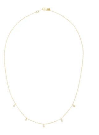 Medium ila collection gold deborah necklace 14 5