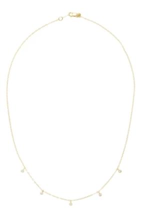 Medium ila collection gold deborah necklace 14 5
