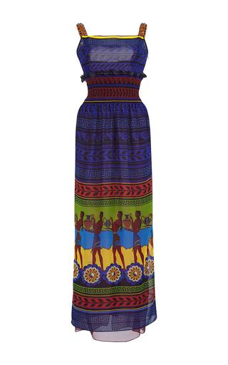 Medium mary katrantzou print hemera maxi silk column dress