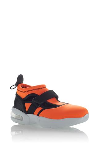 Medium msgm orange neoprene sneaker 2