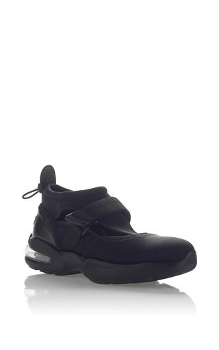 Medium msgm black neoprene sneaker 3