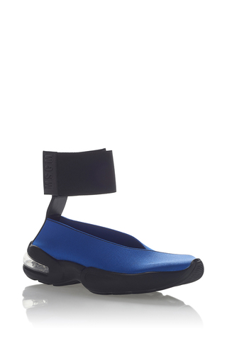 Medium msgm blue neoprene sneaker 5