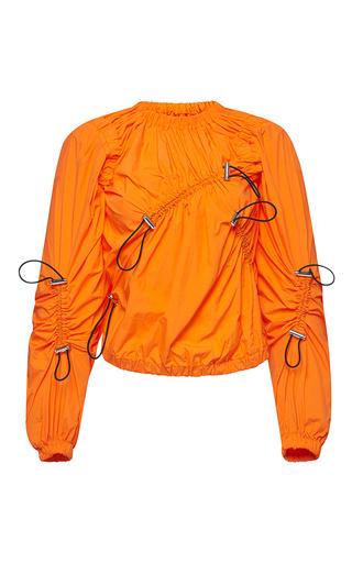 Medium msgm orange long sleeve utility top