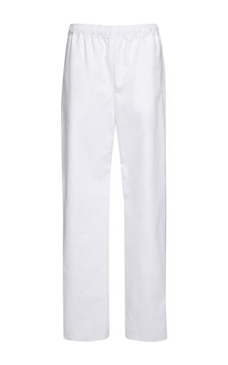 Medium msgm white sport snap pants