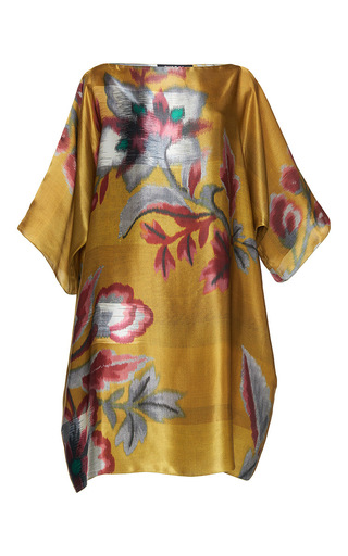 Medium paule ka print japanese floral printed tunic dress