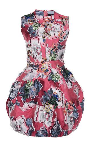 Medium paule ka print kimono jacquard bubble skirt dress