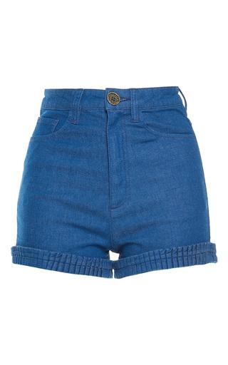 Medium manoush dark wash lovely denim high waist shorts