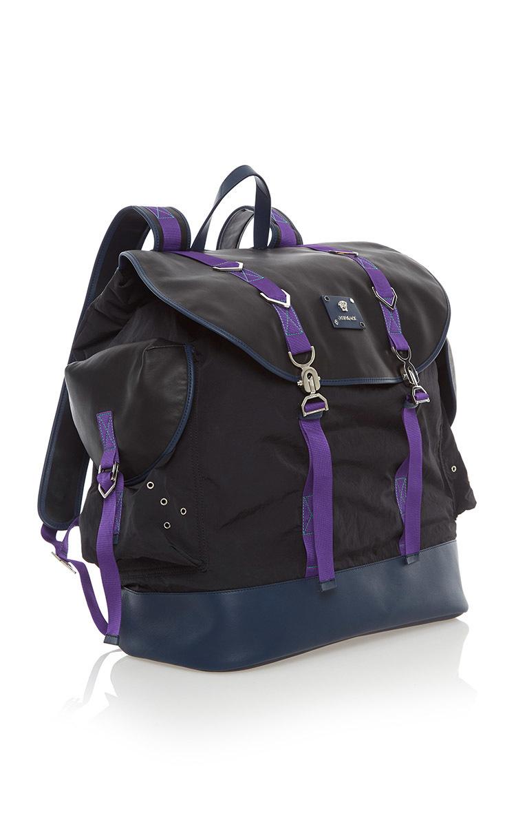 1ab4366105 VersaceNylon Backpack. CLOSE. Loading. Loading