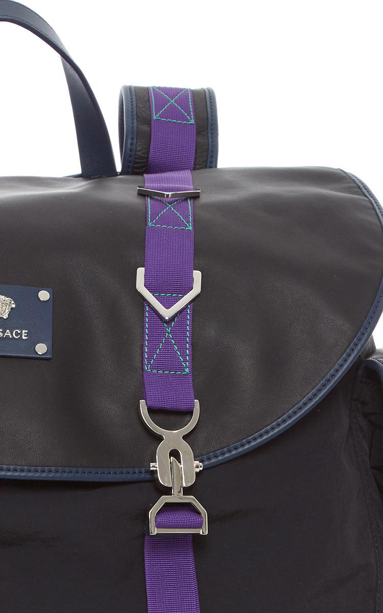 55ab5ef026 VersaceNylon Backpack. CLOSE. Loading. Loading. Loading. Loading. Loading