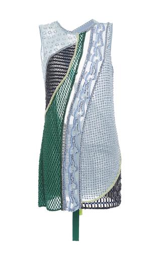Medium versace multi embellished sleeveless mini dress