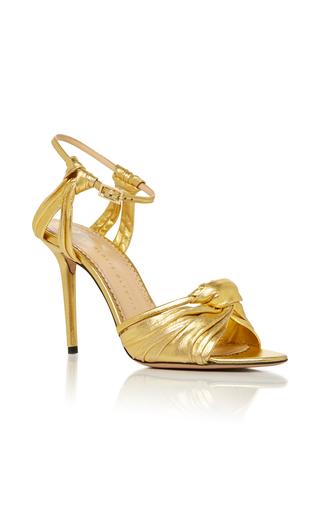 Medium charlotte olympia gold broadway 95 sandal