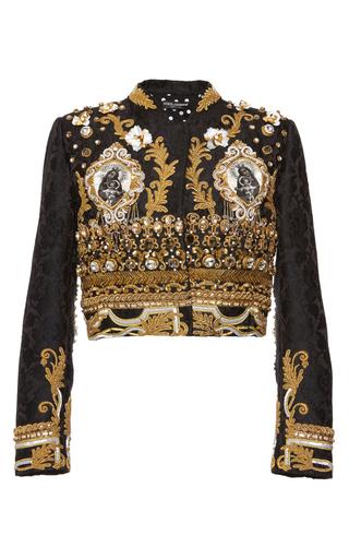 Medium dolce gabbana multi baroque gold corded evening jacket