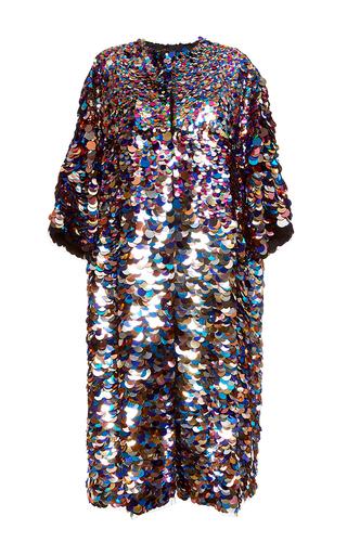 Medium dolce gabbana multi sequin paillette coat
