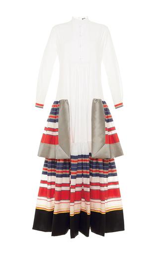 Medium alexis mabille white tiered poplin tunic dress