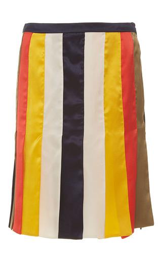 Medium alexis mabille multi multi colored ribbon skirt