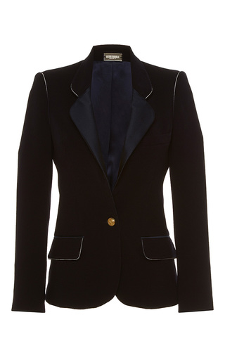 Medium alexis mabille black single breasted blazer
