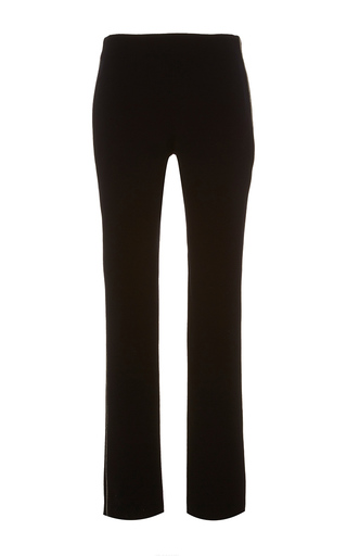 Medium alexis mabille black tremblay crepe straight leg pants