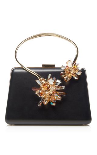 Medium lanvin black jewel embroidereed minaudiere