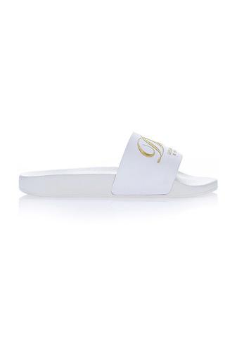 Medium dolce gabbana white hotel pool slides 2