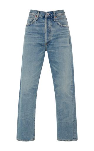 Medium citizens of humanity light wash dree high rise slim straight jeans