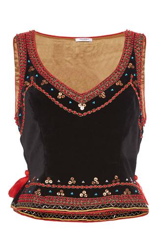 Medium vilshenko multi tabitha embroidered vest