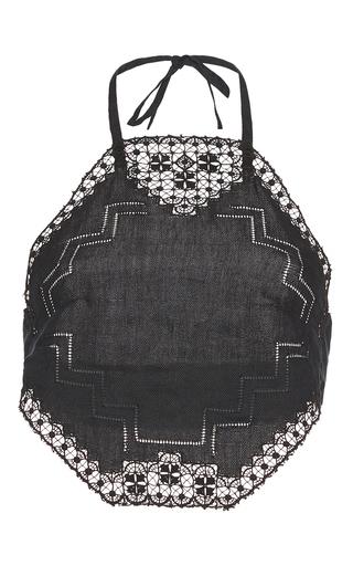 Medium vilshenko black geneva handkerchief top