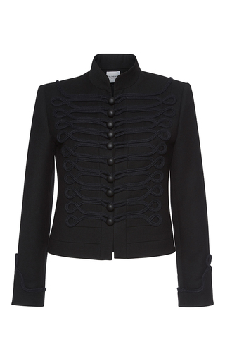 Medium vilshenko black dina military jacket