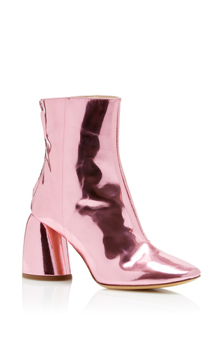 Medium ellery pink jezebels ankle boot